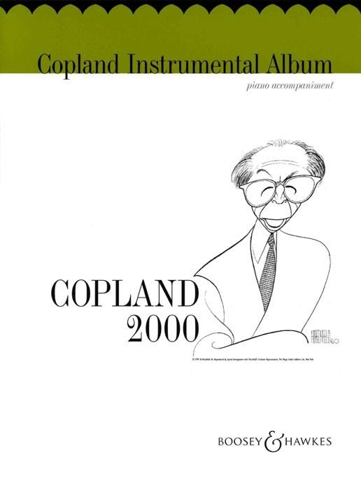 Aaron Copland: Copland Instrumental Album: Piano Accompaniment: Instrumental