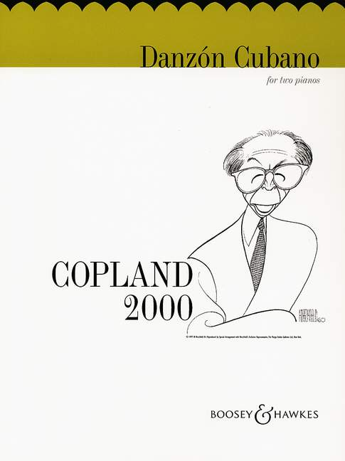 Aaron Copland: Danzòn Cubano: Piano Duet
