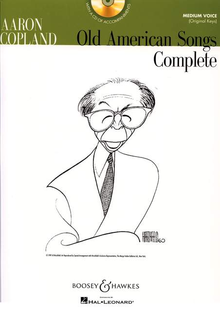Aaron Copland: Old American Songs Complete (Medium Voice): Medium Voice: Backing