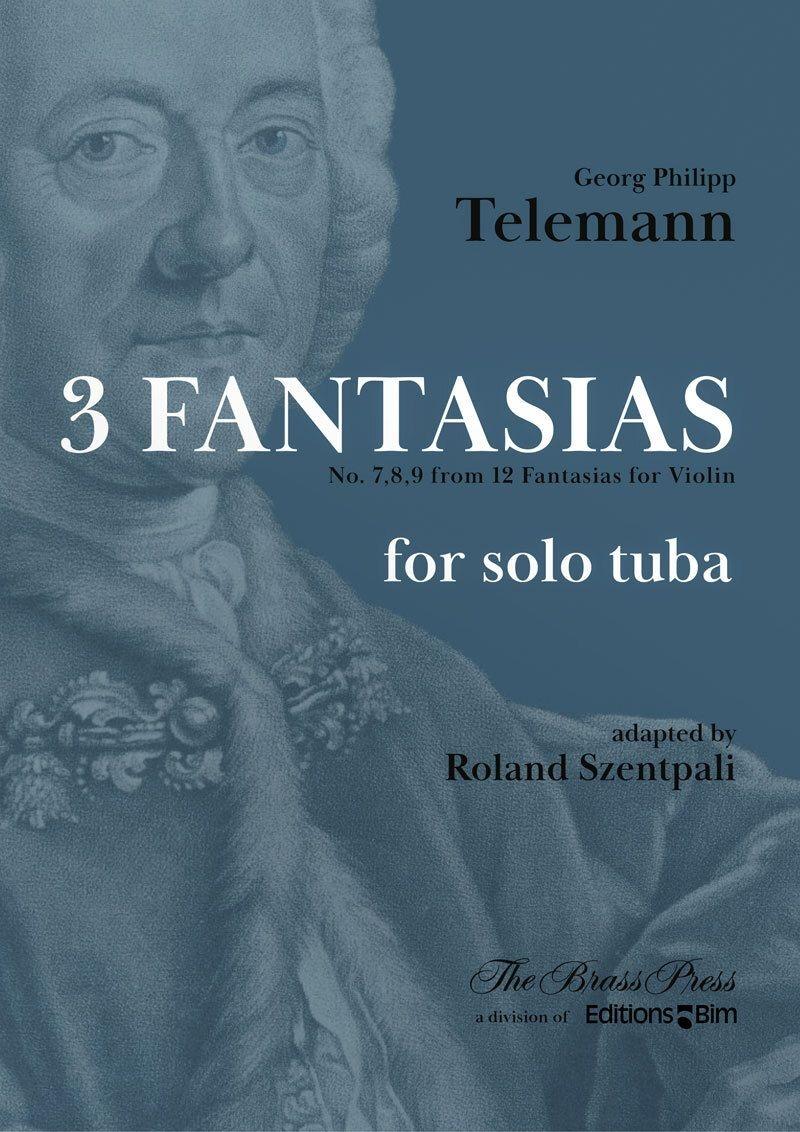 Georg Philipp Telemann: 3 Fantasias - No. 7 8 9: Tuba: Instrumental Album