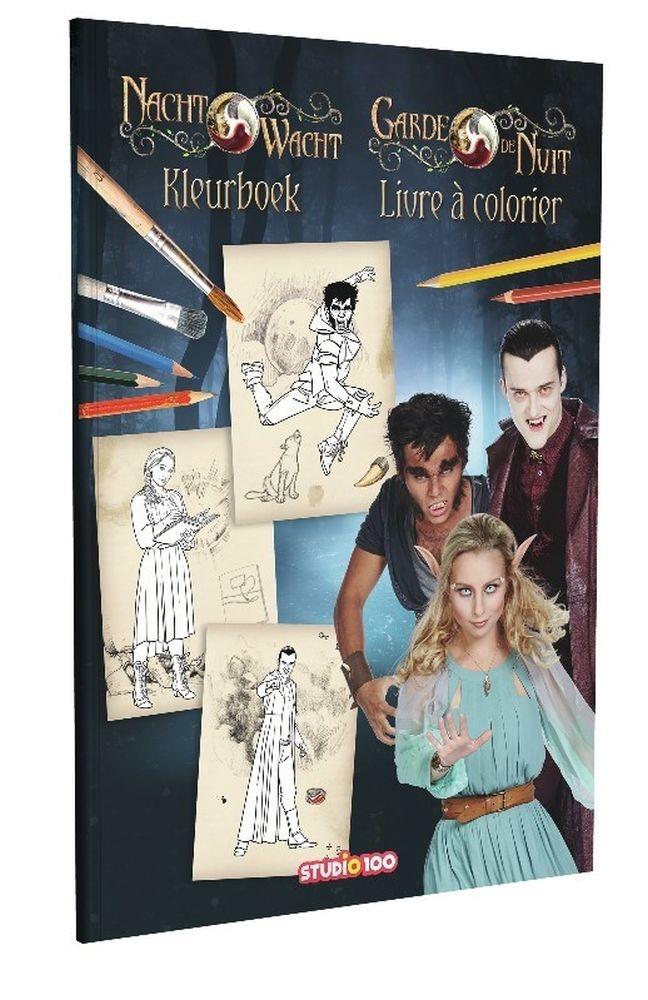 Nachtwacht - Kleurboek: Stationery