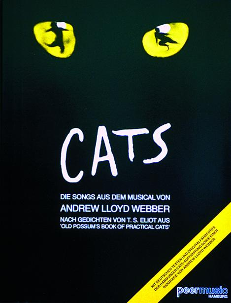 Andrew Lloyd Webber: Cats: Die Songs Aus Dem Musical: Piano Vocal Guitar: