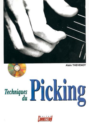 Alain Thevenot: Techniques Du Picking Guitar: Guitar: Instrumental Tutor