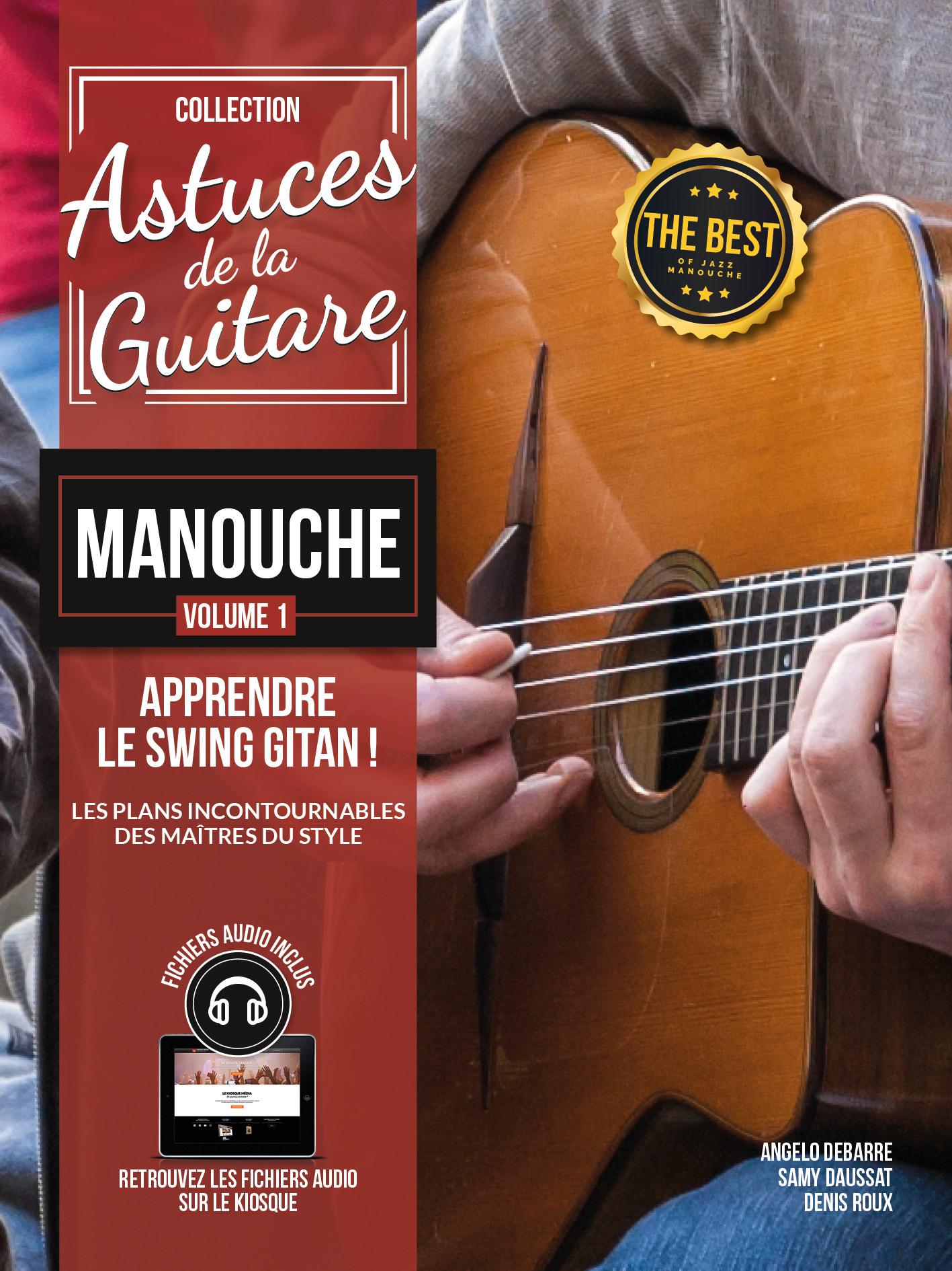Angelo Debarre: Astuces De La Guitare Manouche Vol. 1: Guitar: Instrumental