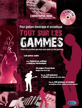 Christophe Rime: Tout Sur Les Gammes: Guitar: Instrumental Album