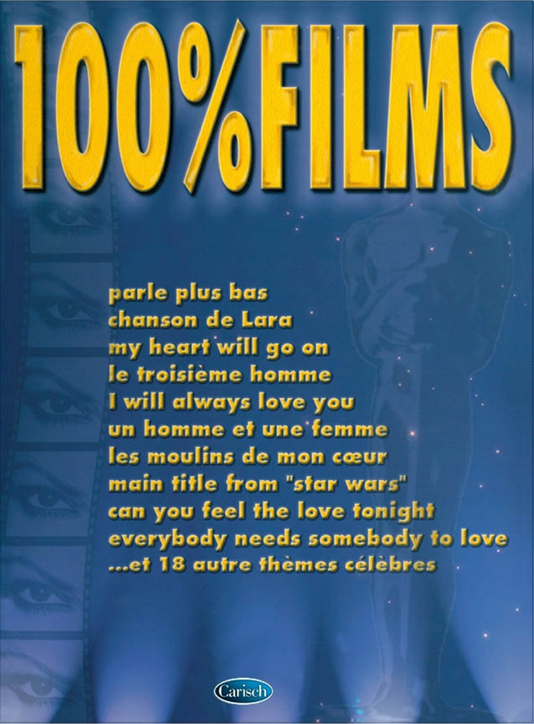 100% Films: Piano Vocal Guitar: Mixed Songbook