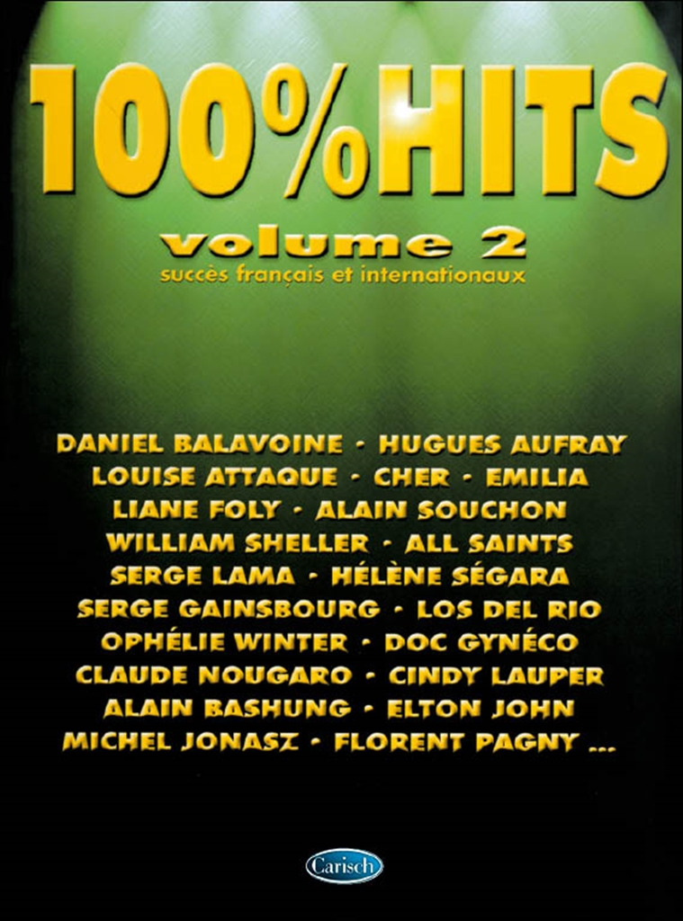 100% Hits Volume 2: Piano Vocal Guitar: Mixed Songbook