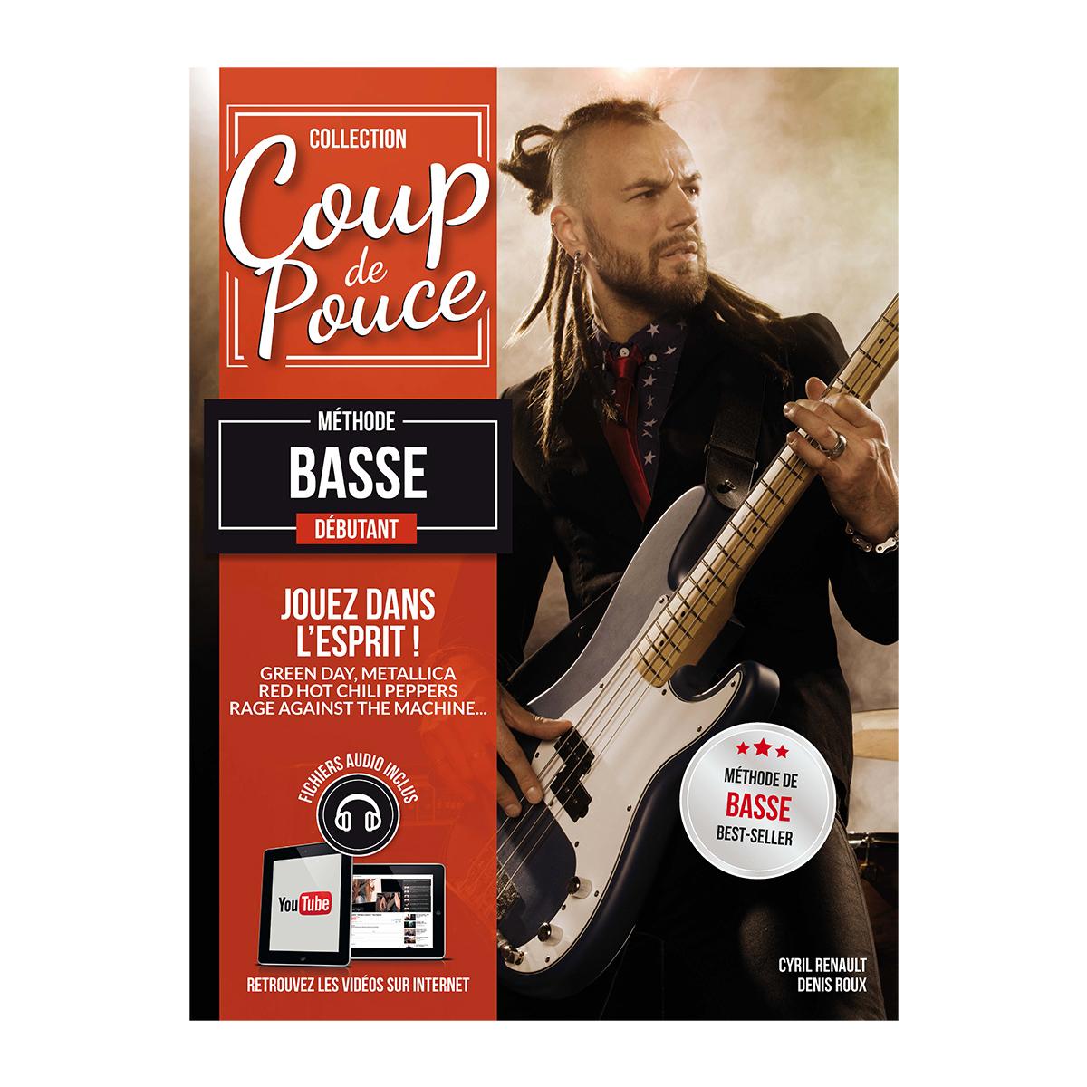 Denis Roux: Coup De Pouce Debutant Basse Vol. 1: Bass Guitar: Instrumental Tutor