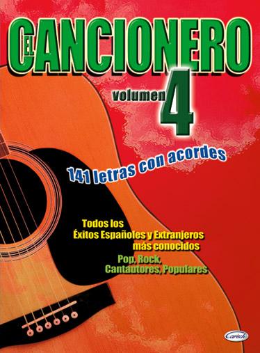 El Cancionero Volume 4: Melody Lyrics & Chords: Mixed Songbook