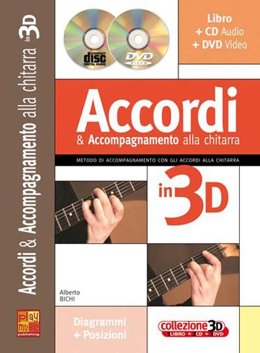 Accordi E Accompagnamento Alla Chitarra in 3D +CD+DVD