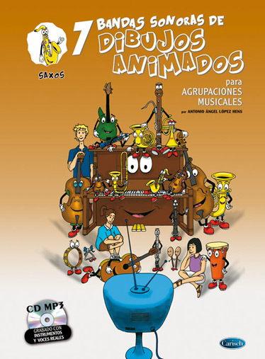 Antonio Angel Lopez Hens: 7 Dibujos Animados - Saxos: Saxophone: Instrumental