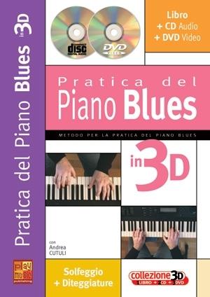 Andrea Cutuli: Pratica Piano Blues: Piano: Instrumental Tutor