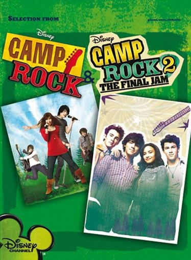 From Selection: From Camp Rock 1&2: Piano Vocal Guitar: Mixed Songbook