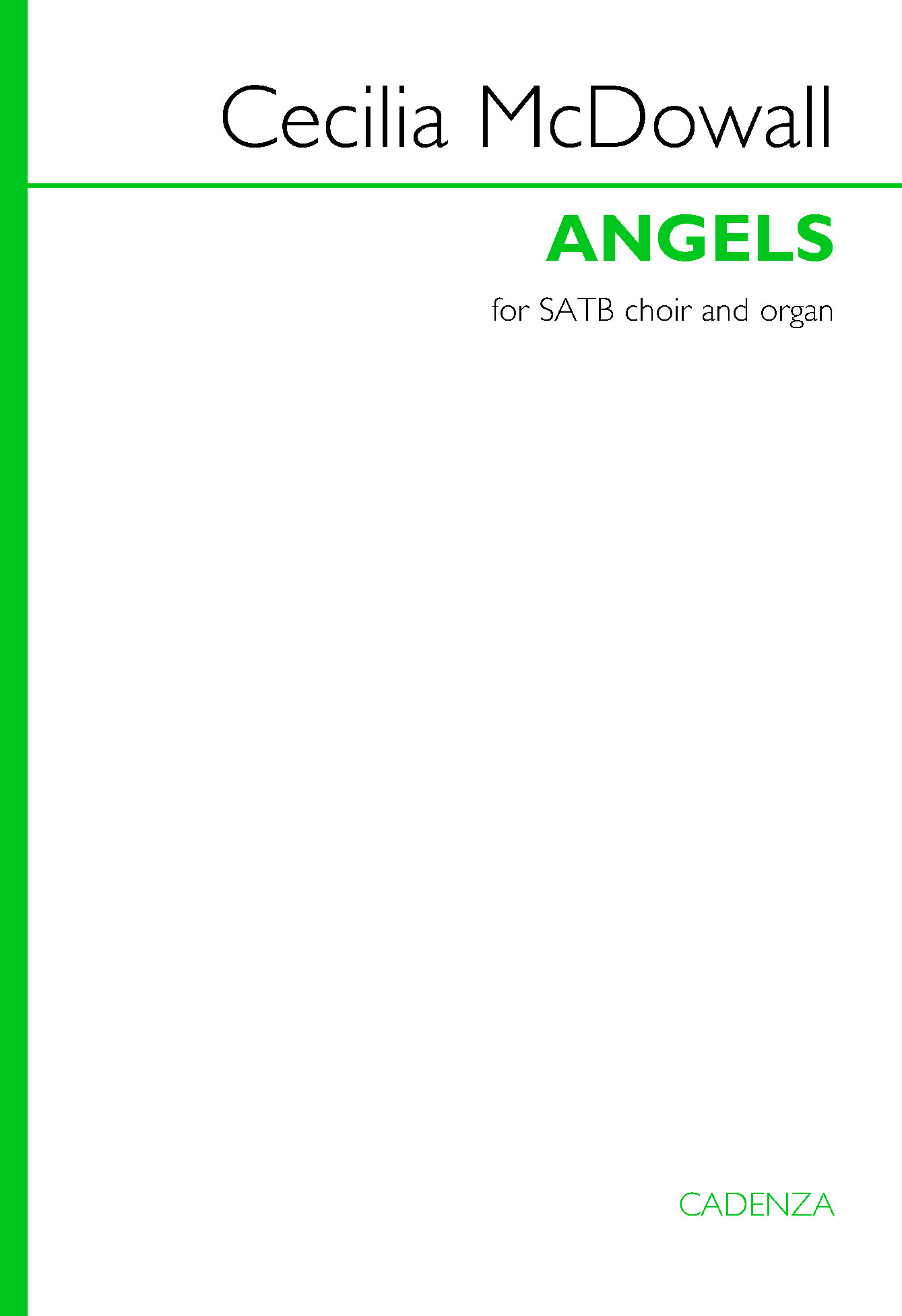 Cecilia McDowall: Angels