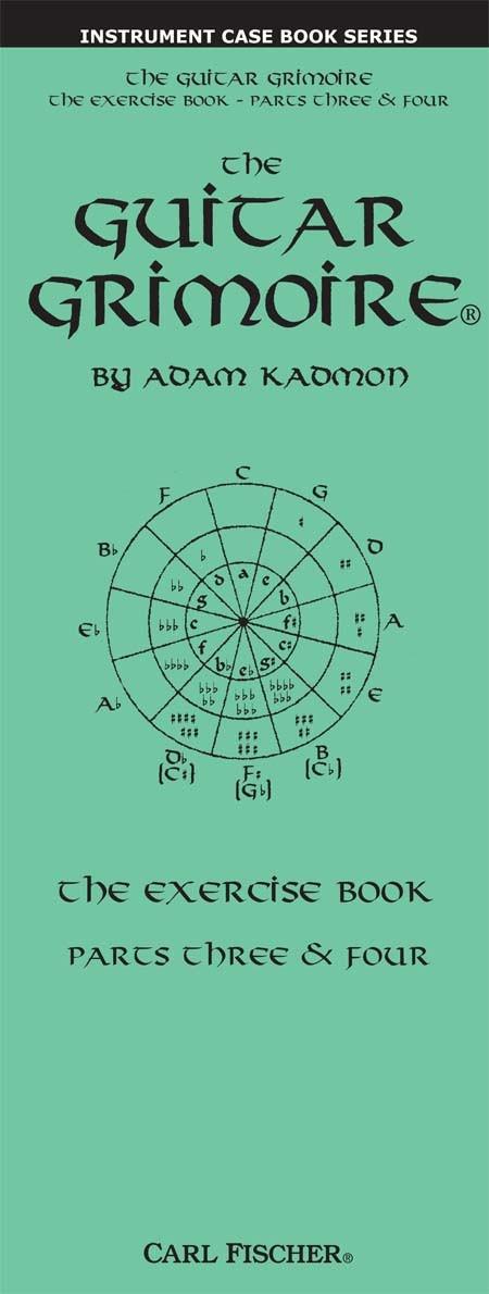 Adam Kadmon: Guitar Grimoire 3 & 4 Exercise: Guitar: Instrumental Tutor