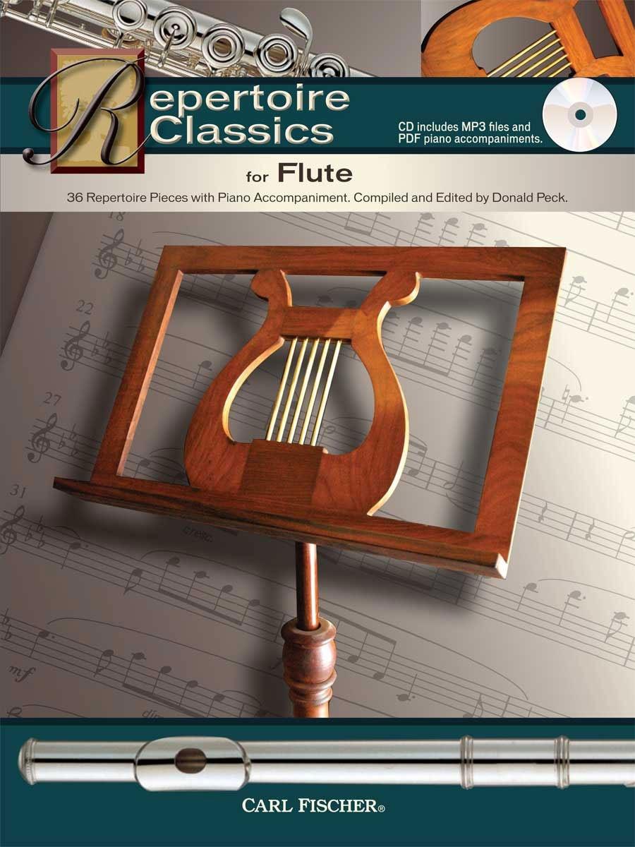 36 Repertoire Classics: Flute: Instrumental Work
