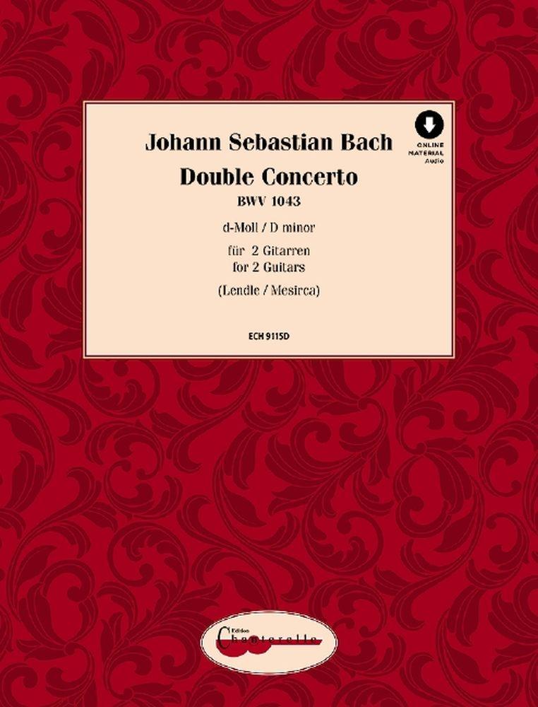 Johann Sebastian Bach: Doppelkonzert D major BWV 1043: Guitar Duet: Instrumental