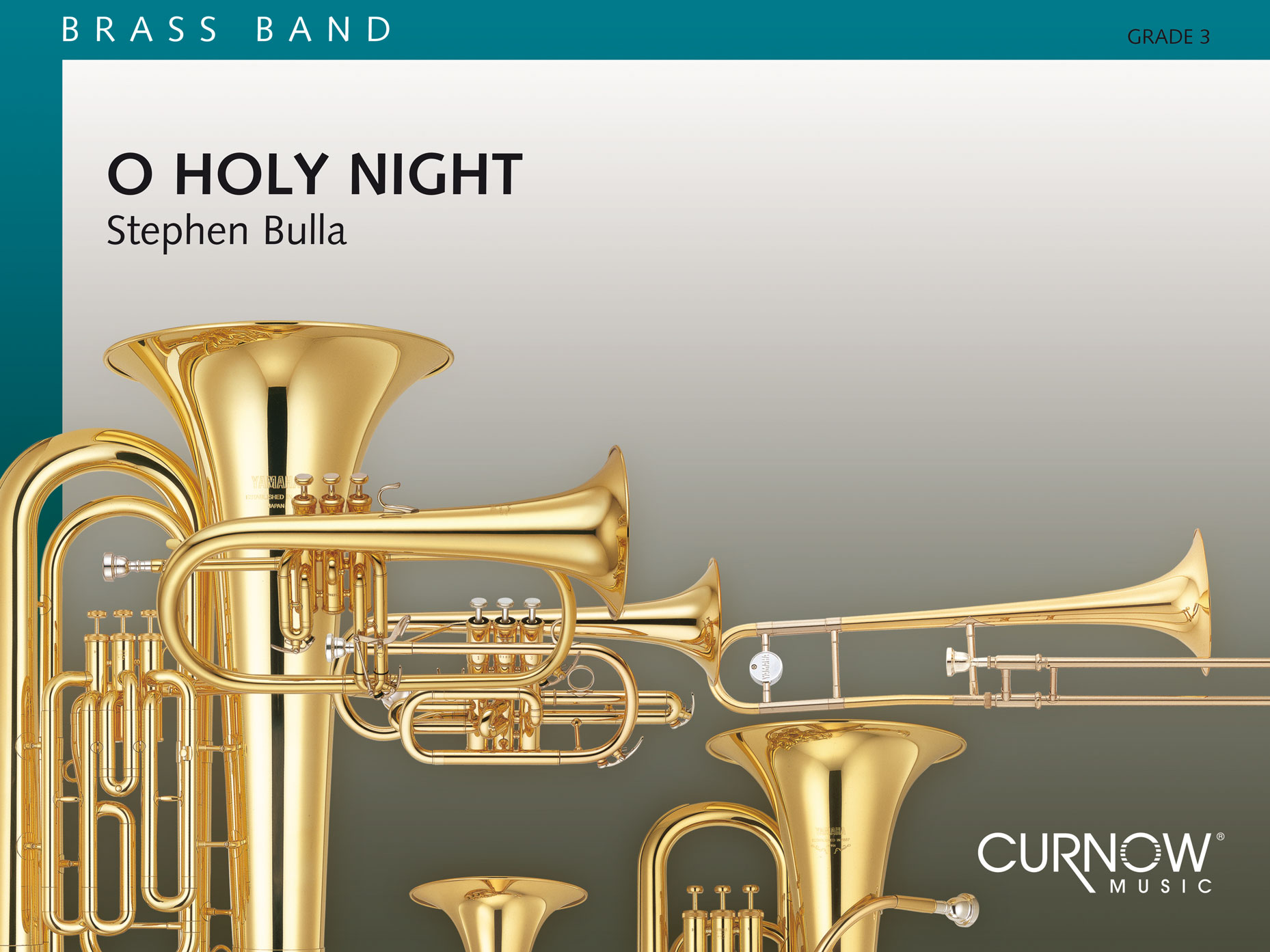 Adolphe Charles Adam: O Holy Night: Brass Band and Solo: Score