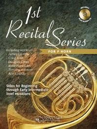 1st Recital Series for F Horn: French Horn: Instrumental Album