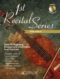 1st Recital Series for Viola: Viola: Instrumental Work