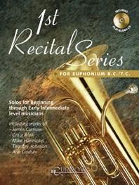 1st Recital Series for Euphonium B.C./T.C.: Euphonium: Instrumental Work