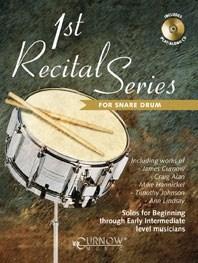 1st Recital Series for Snare Drum: Snare Drum: Instrumental Album