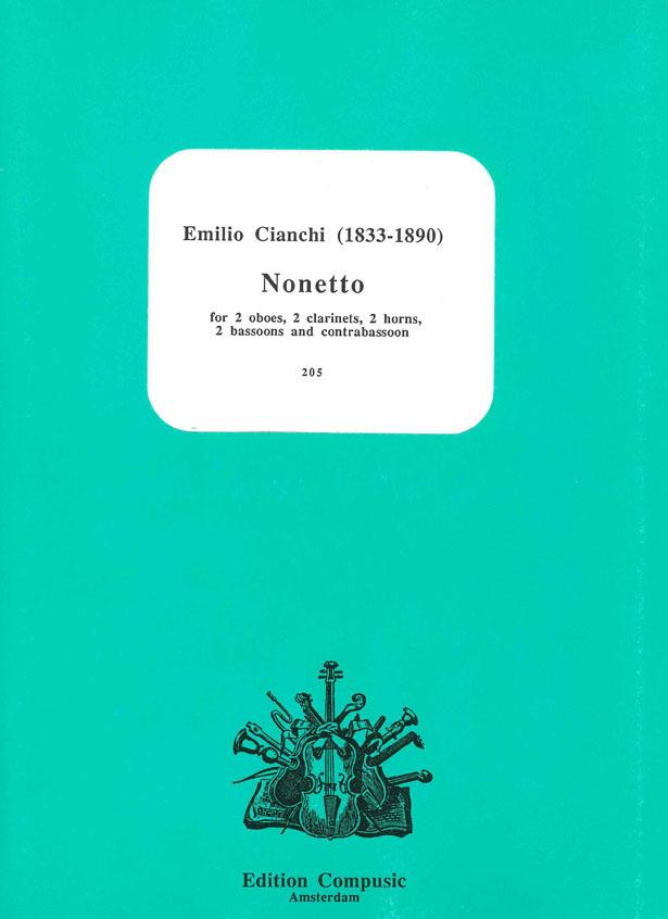 E. Cianchi: Nonetto: Ensemble: Score & Parts