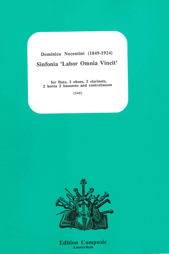 Domenico Nocentini: Sinfonia Labor Omnia Vincit: Wind Ensemble: Score & Parts