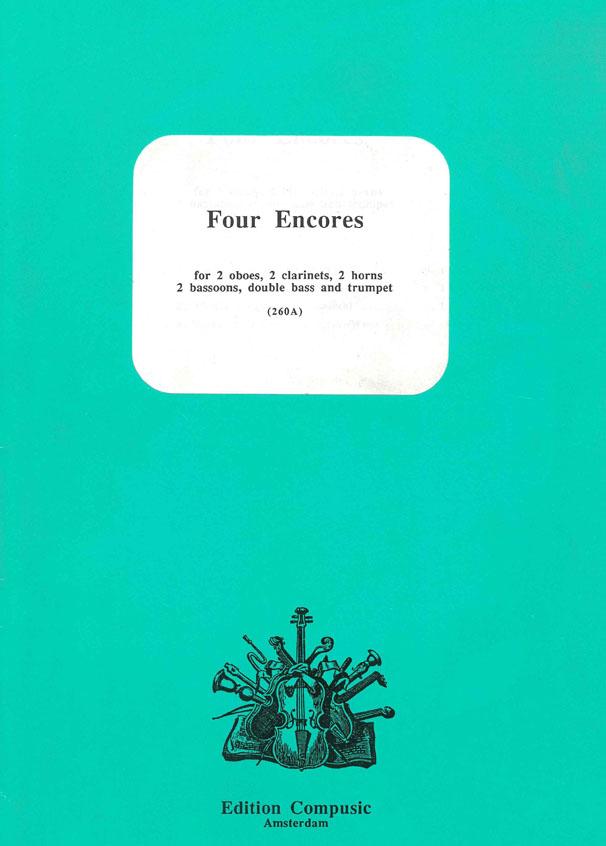 4 Encores: Wind Ensemble: Score & Parts