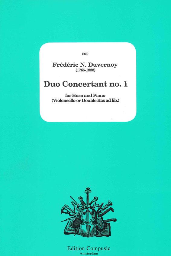 Frédéric Duvernoy: Duo Concertant No.1: French Horn: Instrumental Album