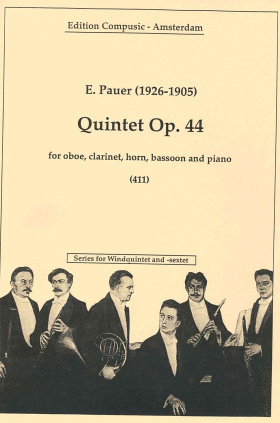 E. van Pauer: Quintet Es Op. 44: Wind Ensemble: Instrumental Album
