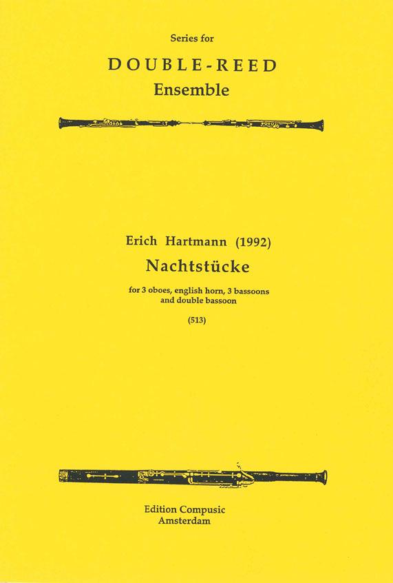 E. Hartmann: Nachtstucke 1992: Wind Ensemble: Score & Parts