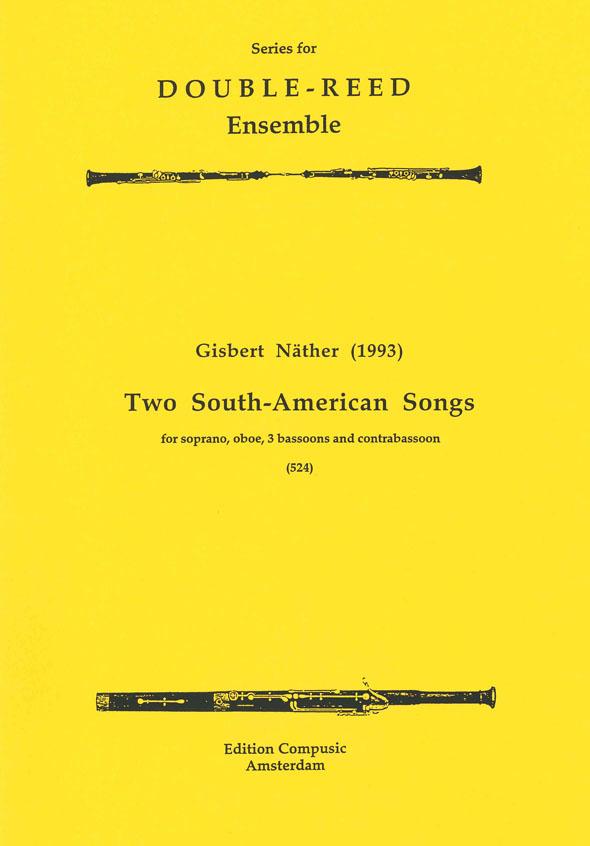 G. Nather: 2 South American Songs: Ensemble: Score & Parts