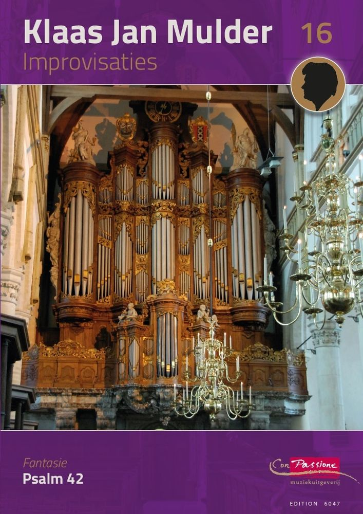 Klaas Jan Mulder: Improvisaties 16: Organ: Instrumental Work