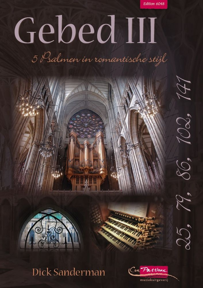 Dick Sanderman: Gebed III: Organ: Instrumental Album