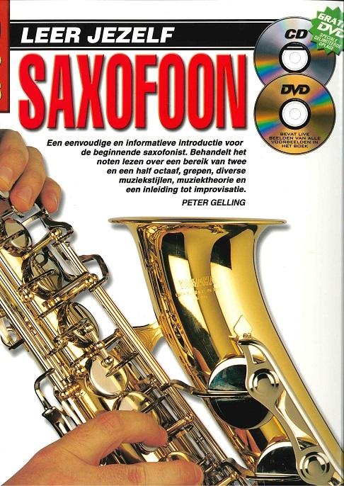 10 Easy Lessons Leer Jezelf Saxophone (Boek/CD/DVD) - Sheet Music CD DVD (Region 0)