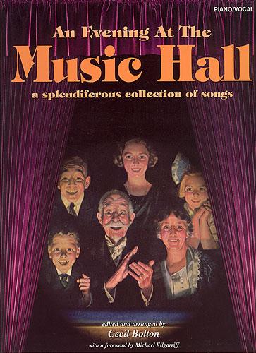 Cecil Bolton: An Evening at the Music Hall: Piano Vocal Guitar: Vocal Album
