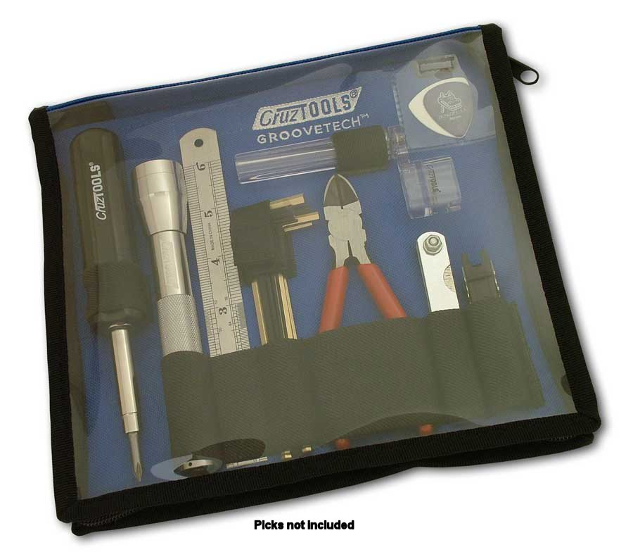 Cruztools Groove Tech Guitar Player Tech Kit: Cleaning