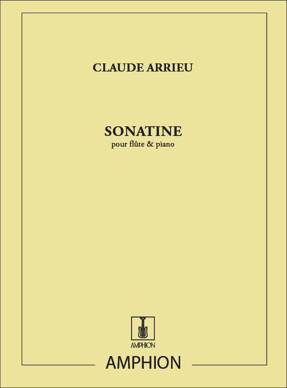 Claude Arrieu: Sonatine: Flute: Instrumental Work