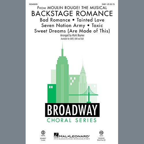 Click to view product details and reviews for Backstage Romance Sab Choral Score Digital.