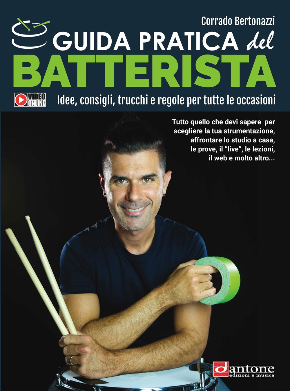 Corrado Bertonazzi: Guida pratica del Batterista: Drumkit: Instrumental Tutor