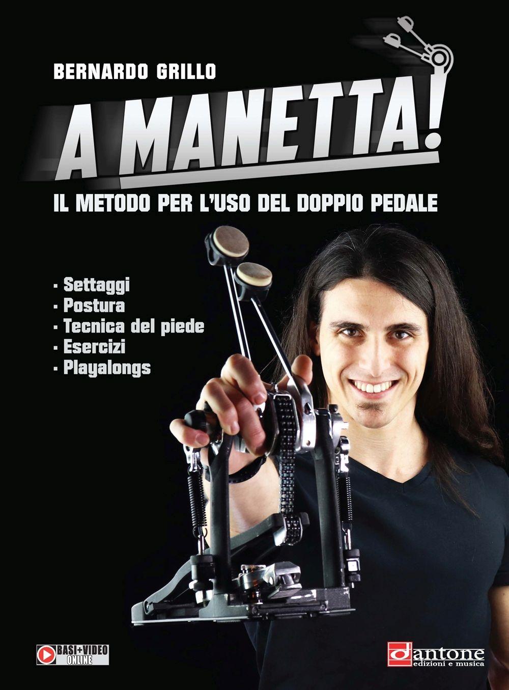 Bernardo Grillo: A Manetta: Drums: Instrumental Tutor