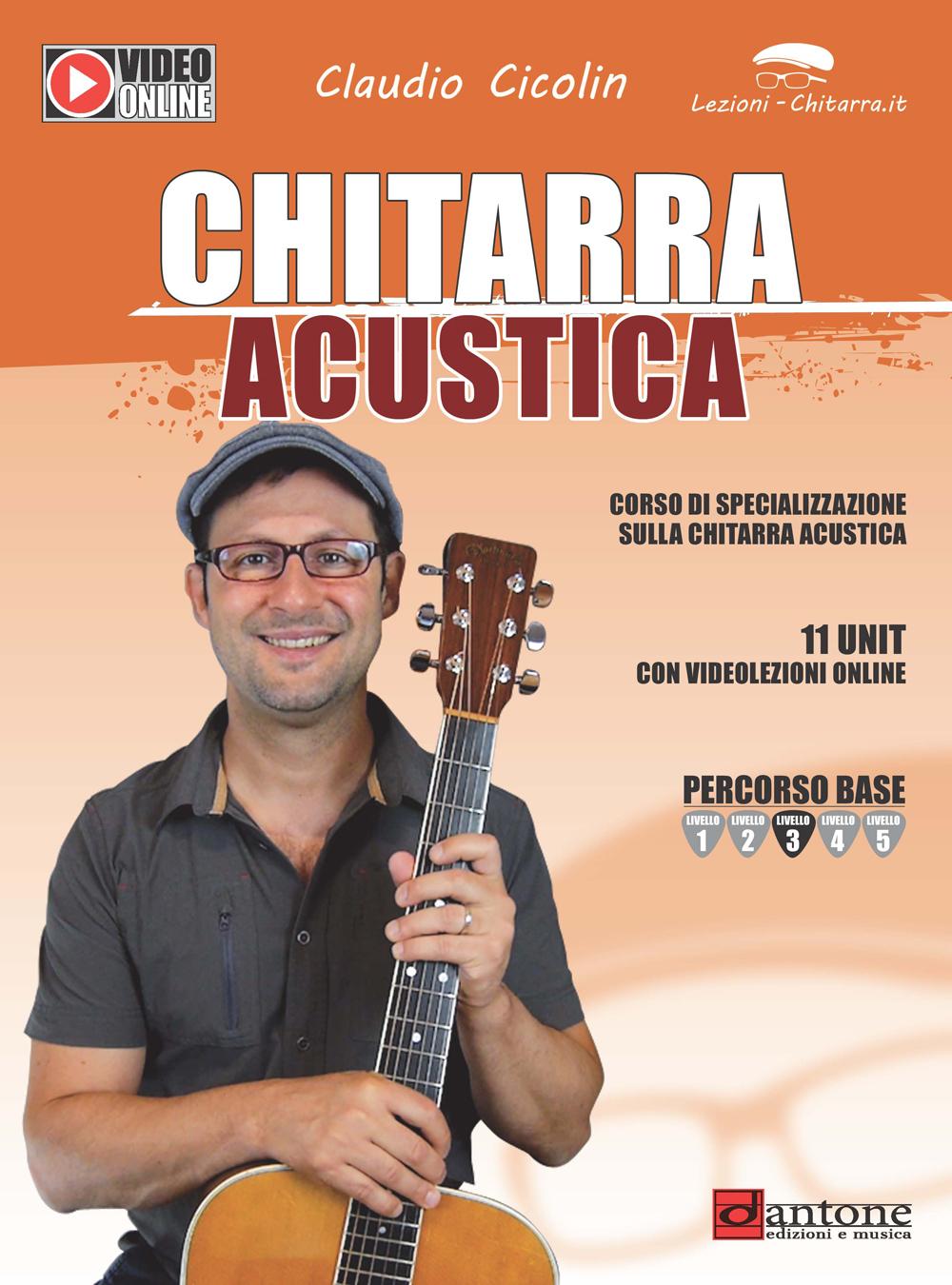 Claudio Cicolin: Chitarra Acustica: Guitar: Instrumental Tutor