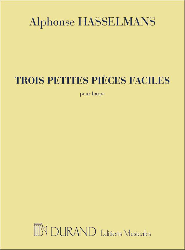 Alphonse Hasselmans: Trois Petites Pièces Faciles: Harp