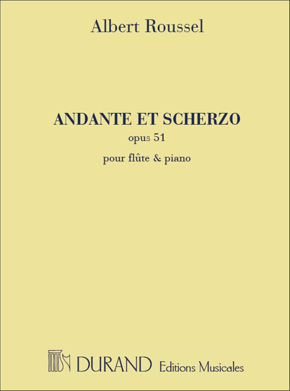 Albert Roussel: Andante et Scherzo Op 51: Flute: Instrumental Work