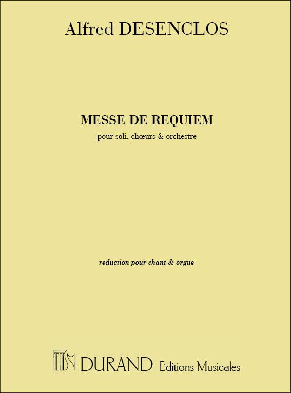 Alfred Desenclos: Messe de Requiem: SATB