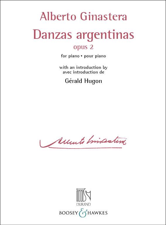 Alberto Ginastera: Danzas Argentinas Opus 2: Piano: Instrumental Work