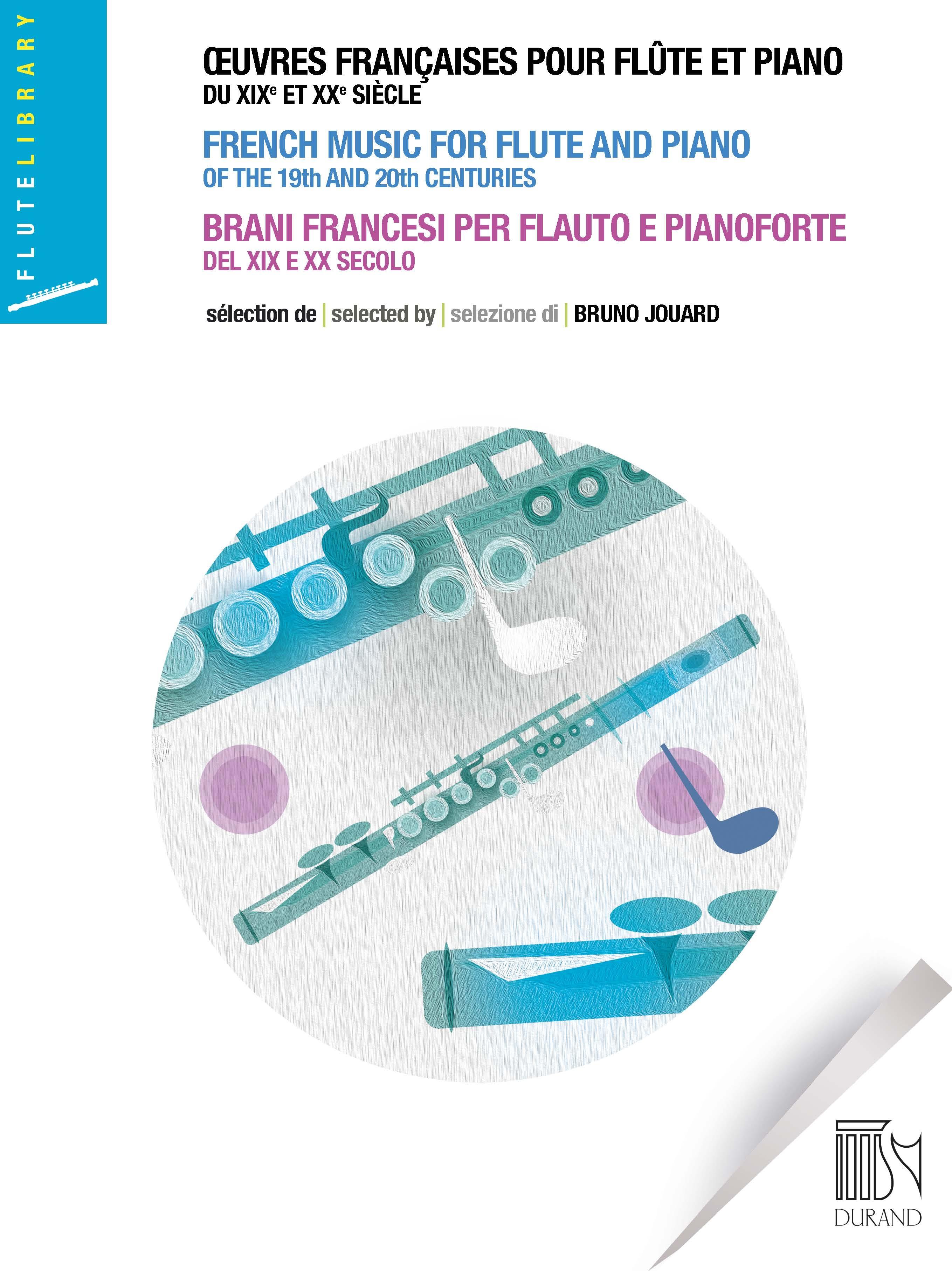 Œuvres françaises pour flûte et piano: Flute