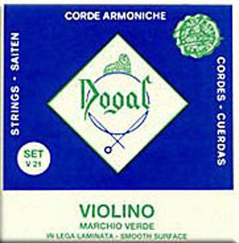 4/4 and 3/4 Violin String Set Green Series: Strings