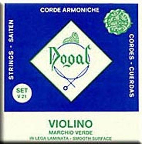 1/8-1/16 Violin String Set Green Series: Strings